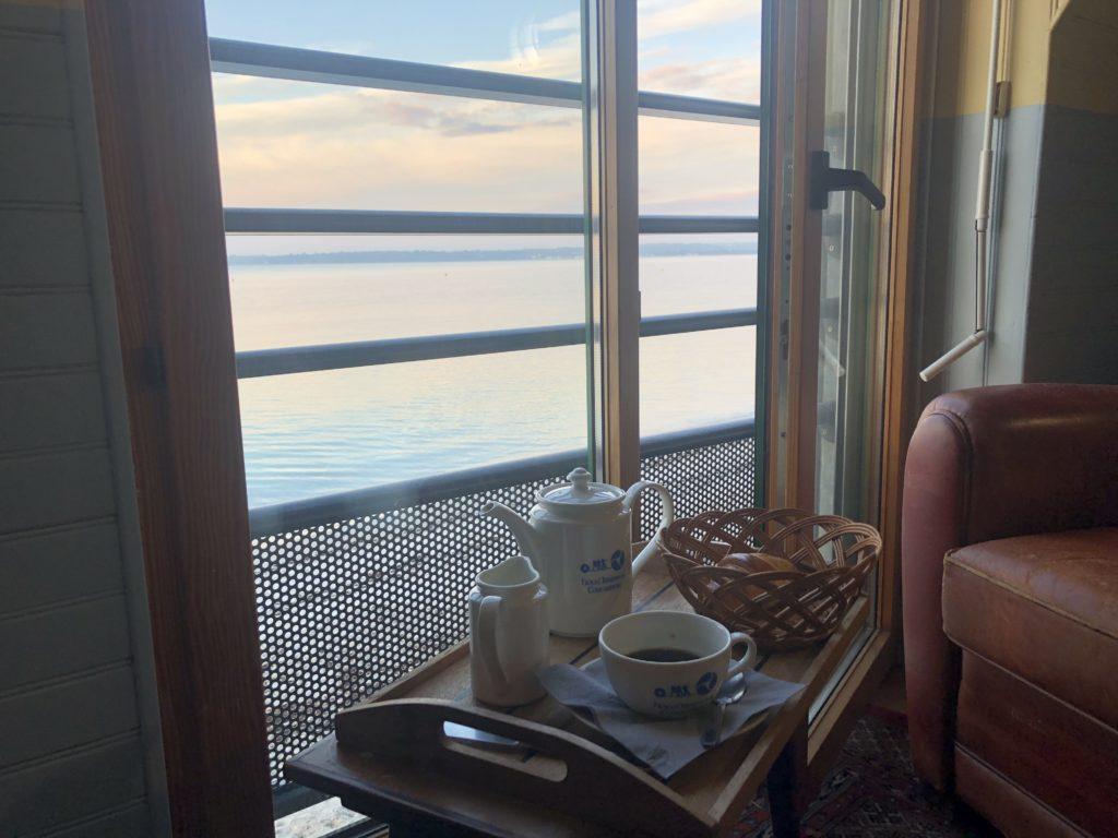 Petit déjeuner hotel Kermoor